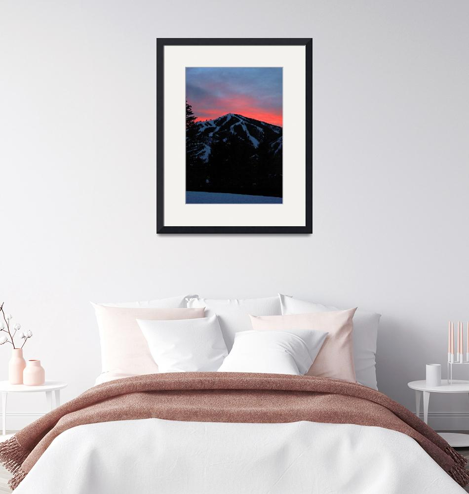 """""""Sunset - Baldy Mountain""""  (2012) by rsummers"""