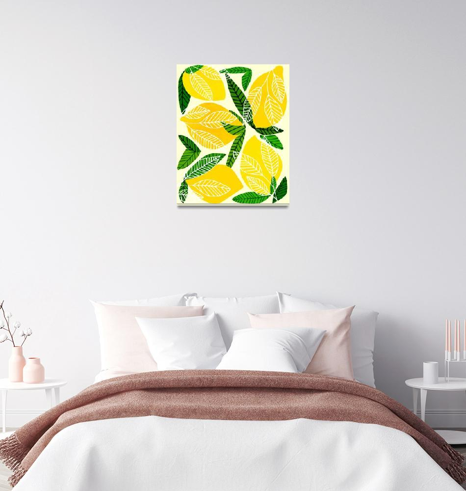 """Lemon Tree""  (2019) by moderntropical"