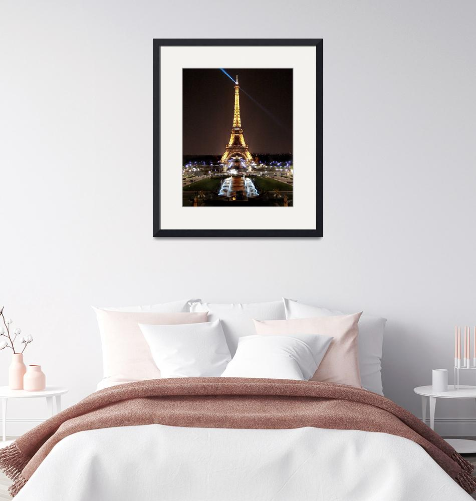 """""""Eiffel Tower""""  by lightandimages"""