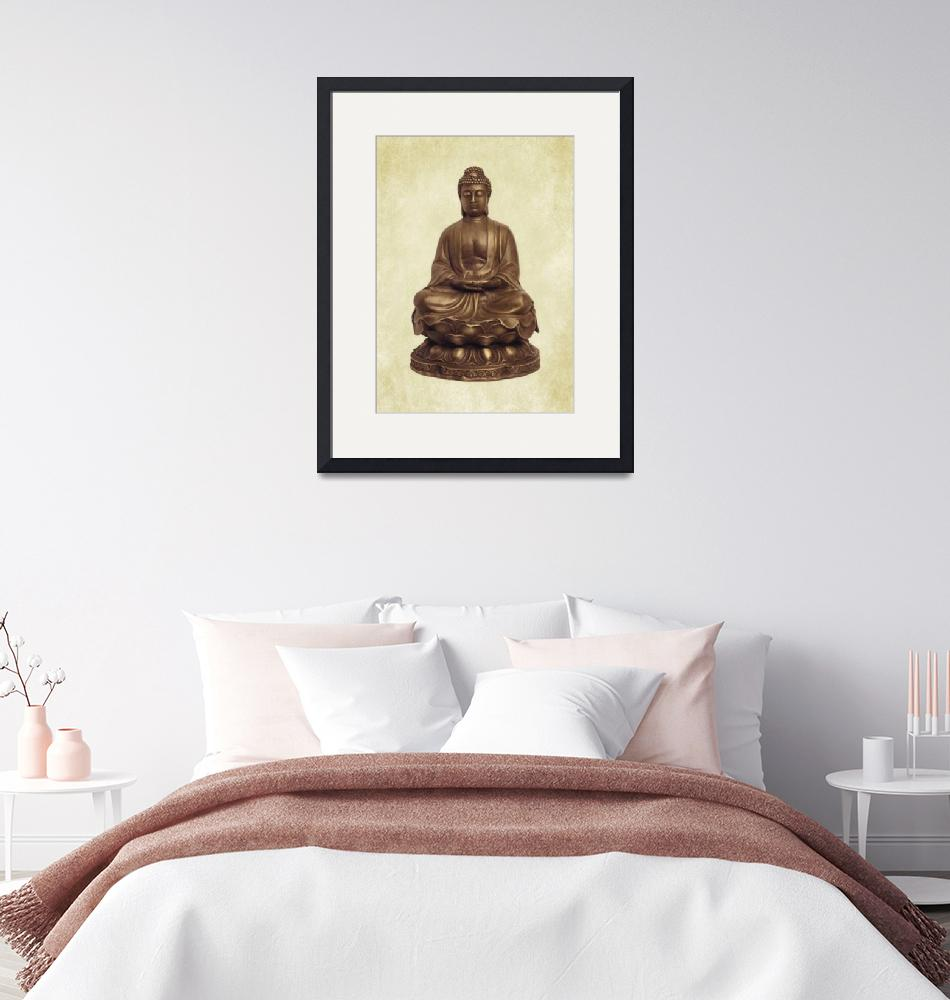 """BUDDHA""  (2016) by marymase"