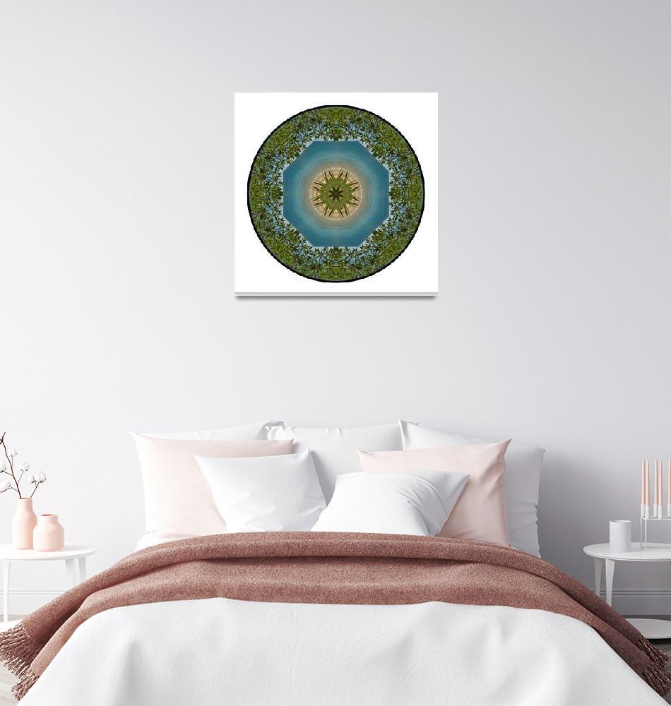"""New Zealand Mandala #2""  by wanderlustproductions"
