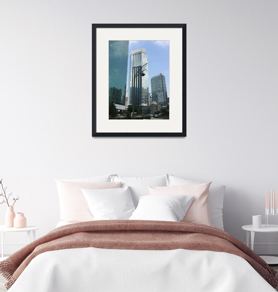 """""""City Scape Hong Kong""""  (2015) by snapdragon"""