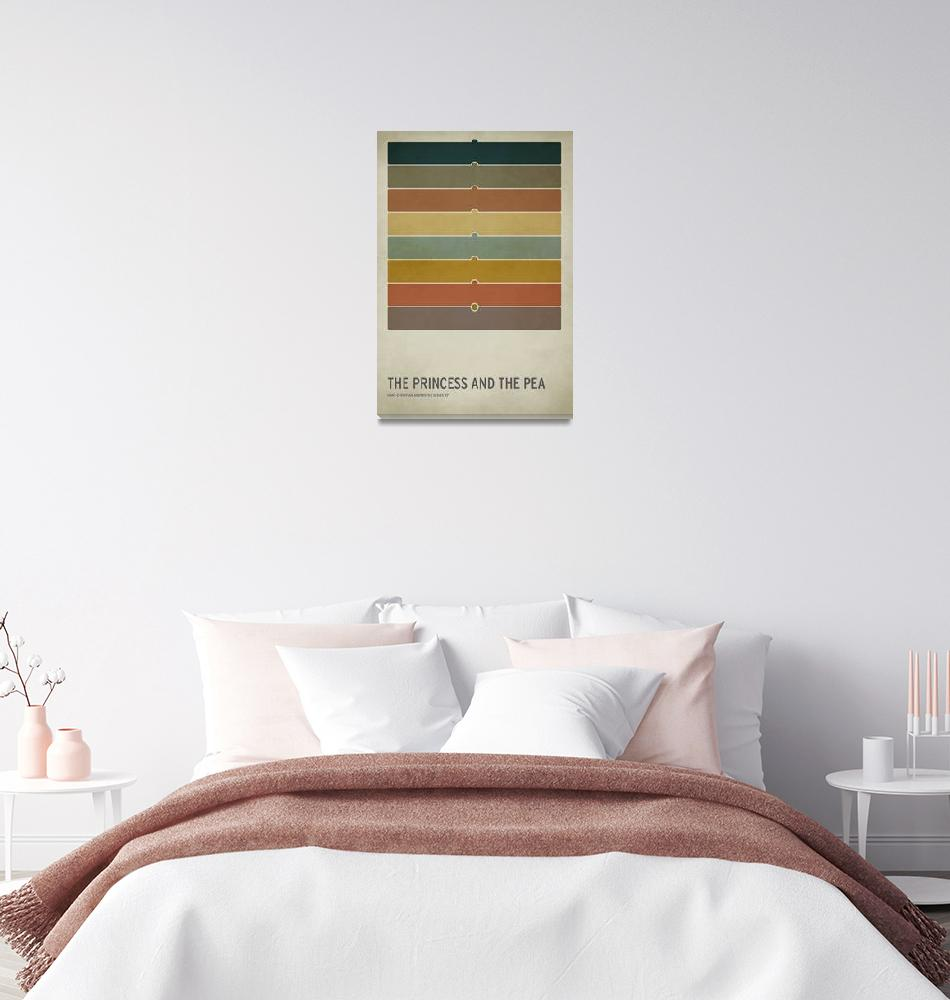 """""""The Princess and the Pea""""  (2010) by squareinchdesign"""