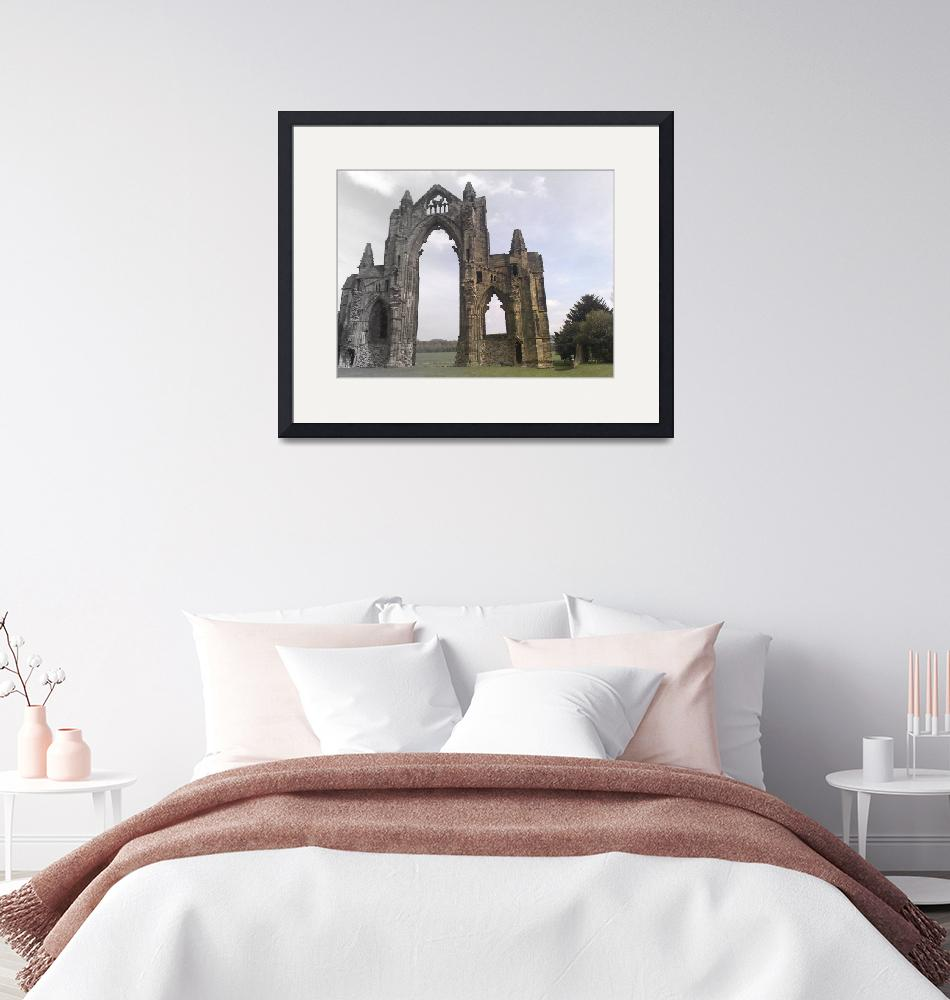 """""""Guisborough Priory""""  by redsquirrel"""