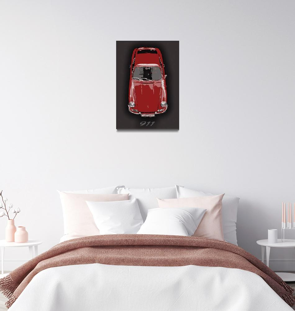 """""""Red 911""""  (2012) by getshaped"""