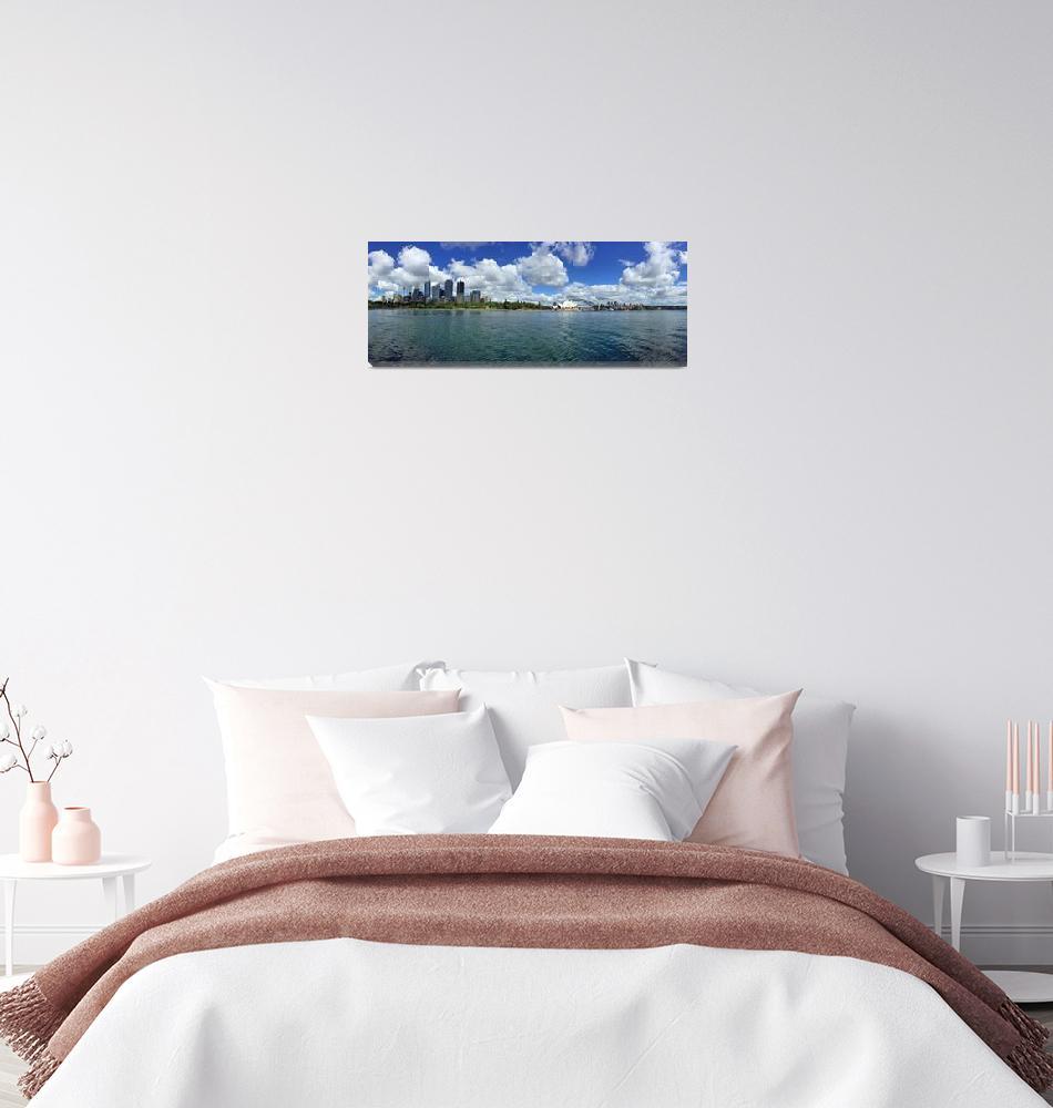 """Sydney Harbour""  (2018) by joeyartist"