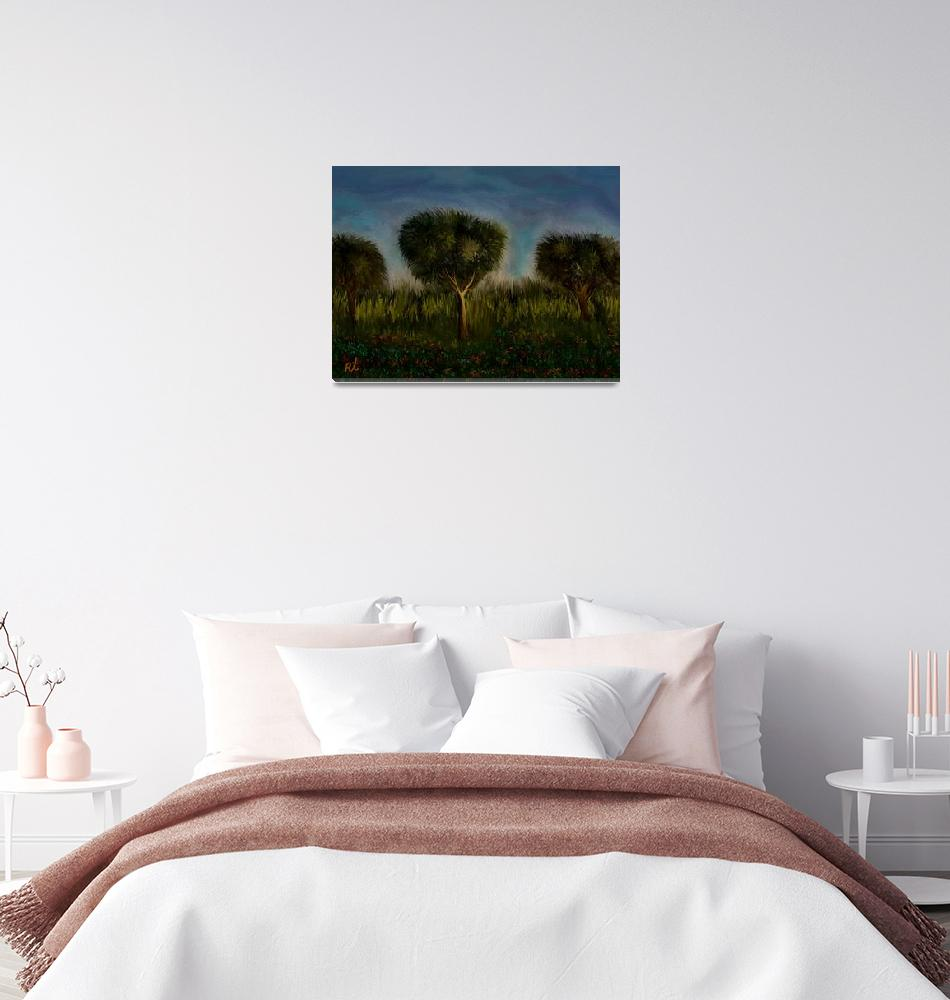 """""""Trees and Landscape""""  (2010) by RT3D"""