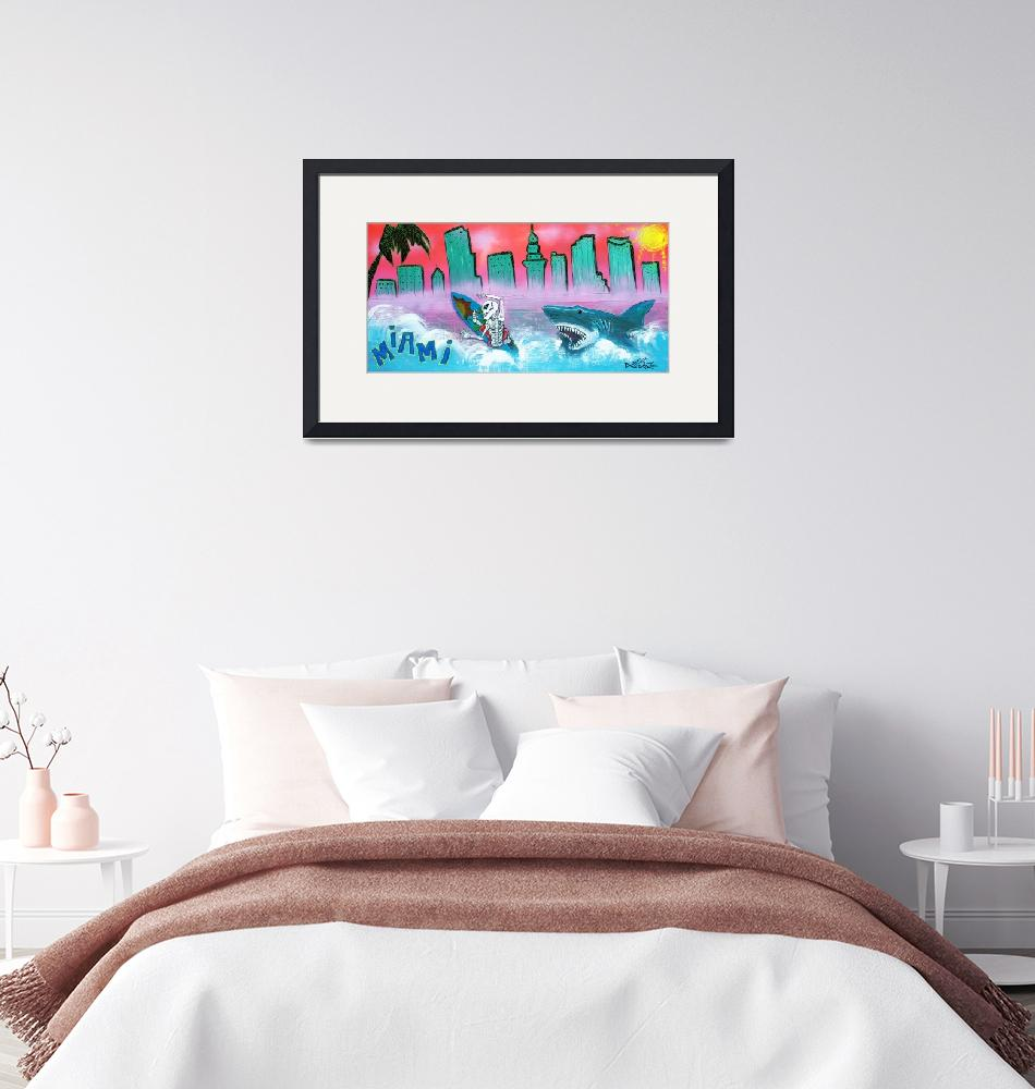"""Miami""  (2015) by ArtPrints"