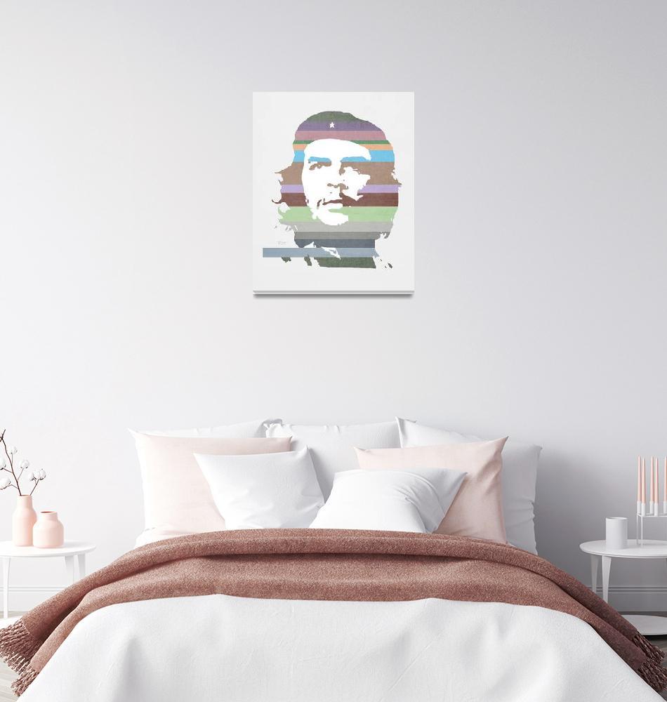 """Che Guevara texture signed 2014""  by Bernardojbp"