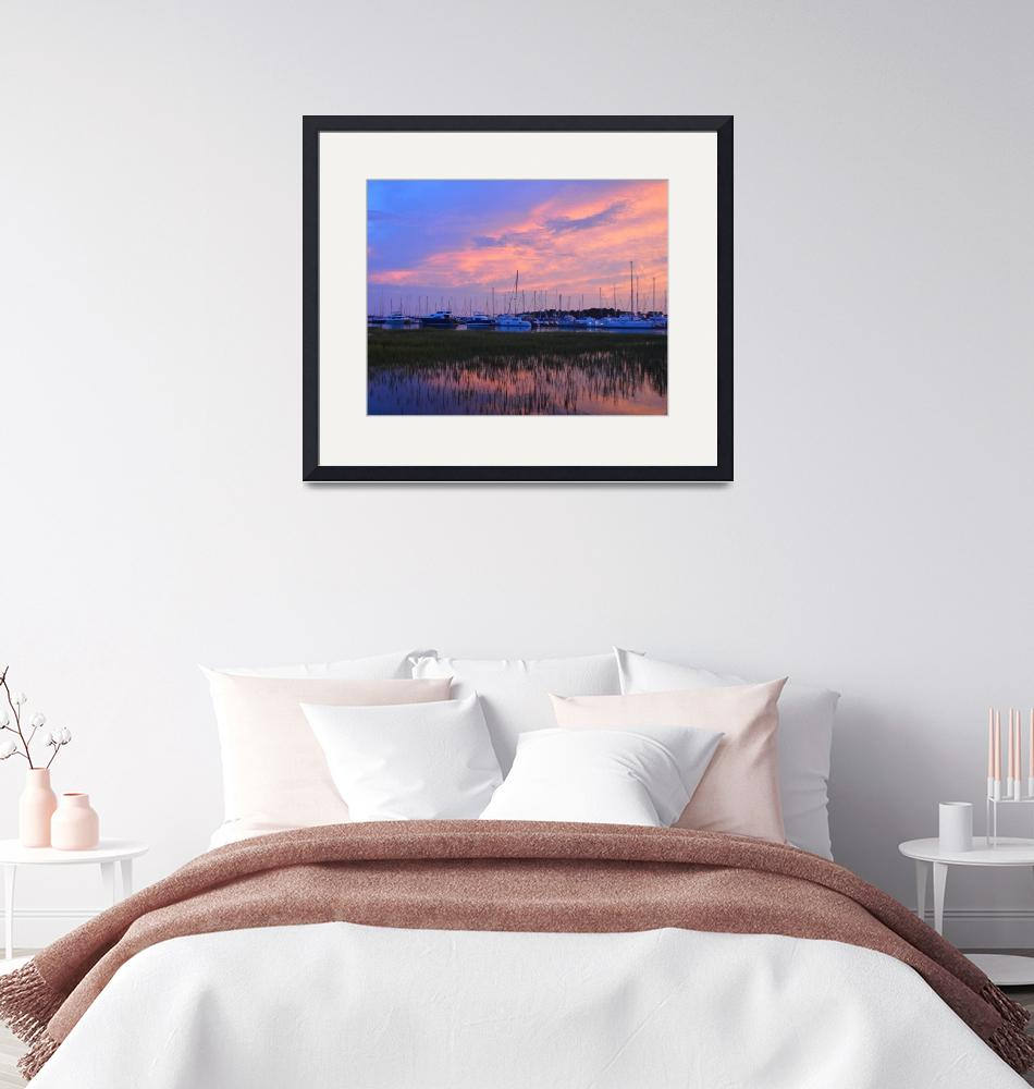 """""""Sunset in Scull Creek 03""""  (2019) by alex1230"""