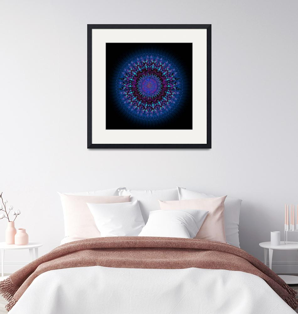 """Casual Clicks Spirograph""  by Kerry"
