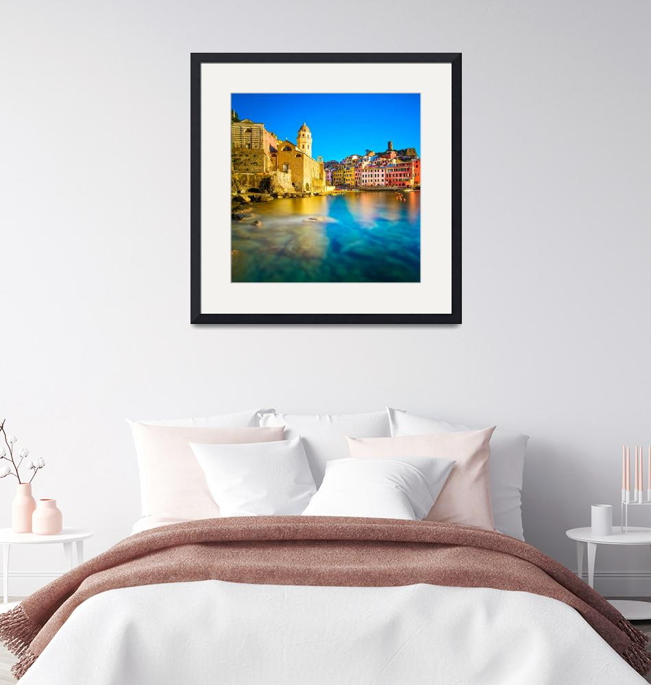 """Italy Photo Framed Print""  by buddakats1"