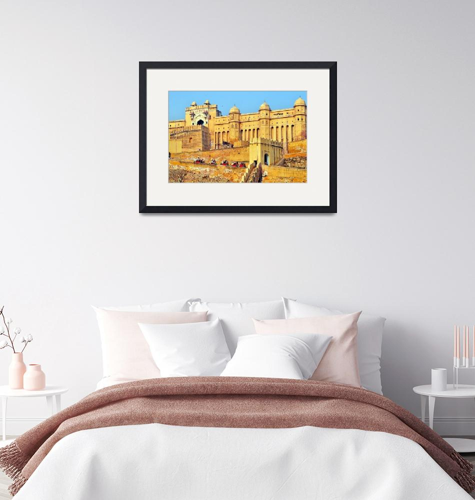"""""""Amber Fort And Royal Palace"""" (2011) by JoaoPonces"""