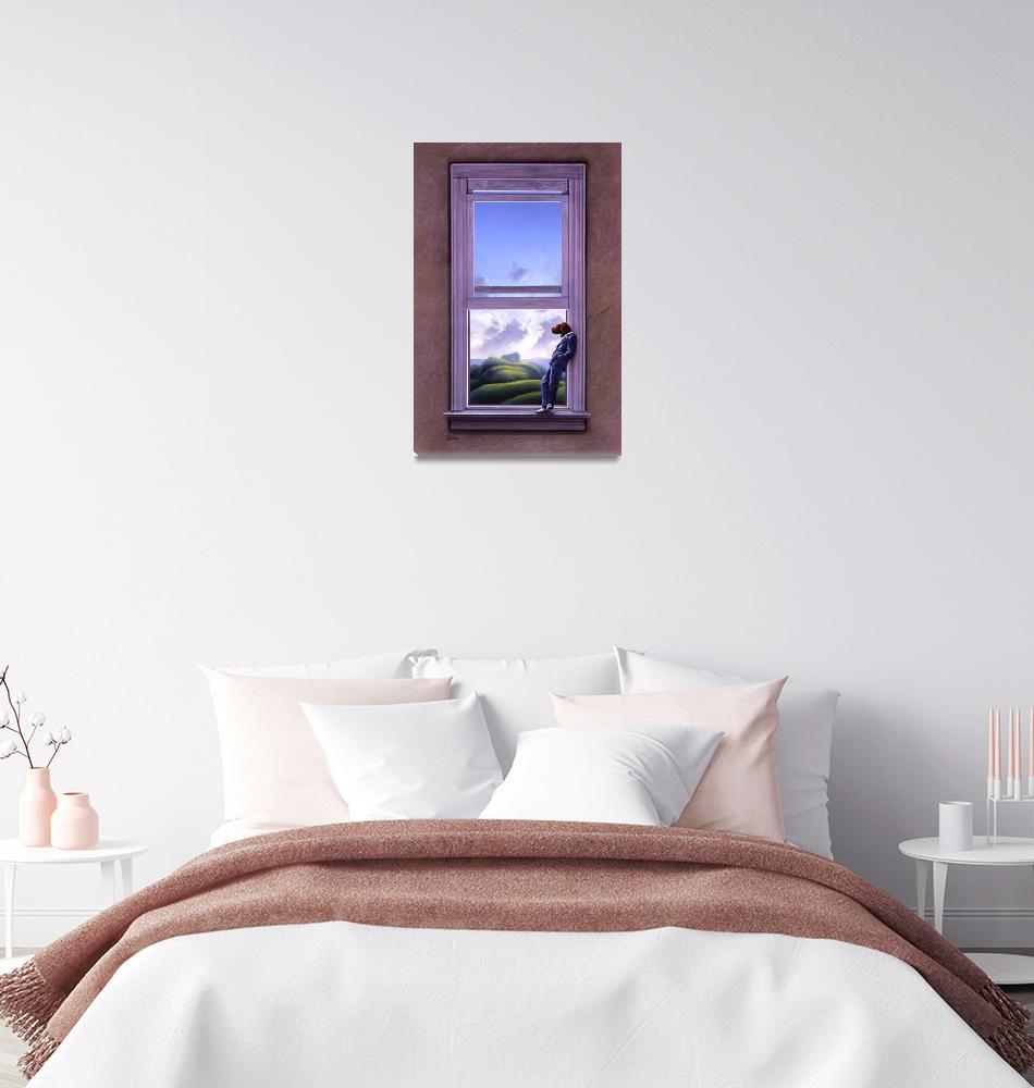 """Window of Dreams"" (1987) by jerrylofaro59"