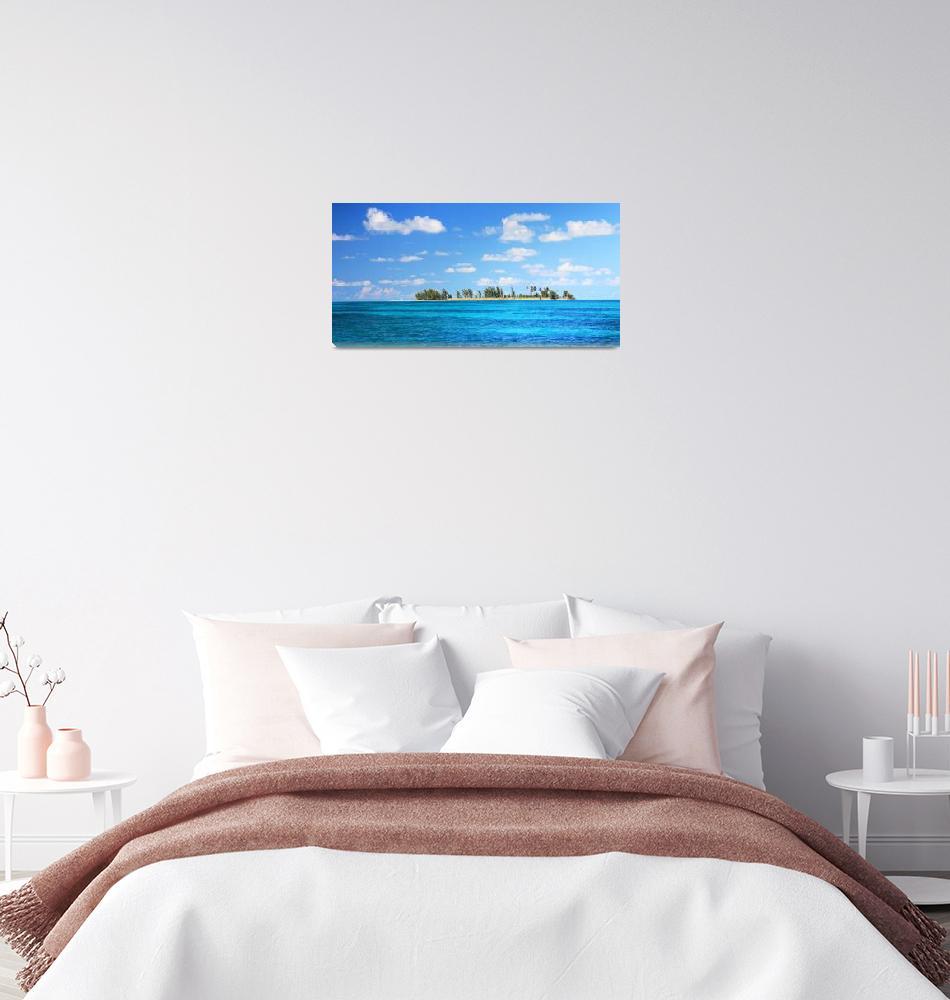 """""""Sandy Cay, Bahamas""""  (2015) by RoupenBaker"""