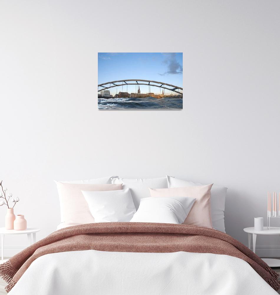 """Bridges in Hamburg""  by Fraenks"
