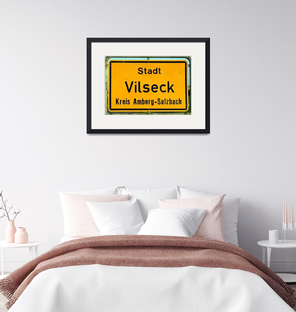 """""""You are Now Entering Vilseck Up Close and Personal""""  by Artsart"""