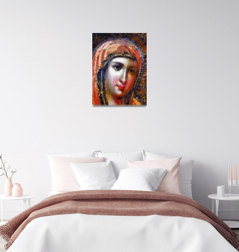 """""""The Virgin Mary""""  (2012) by leapdaybride"""