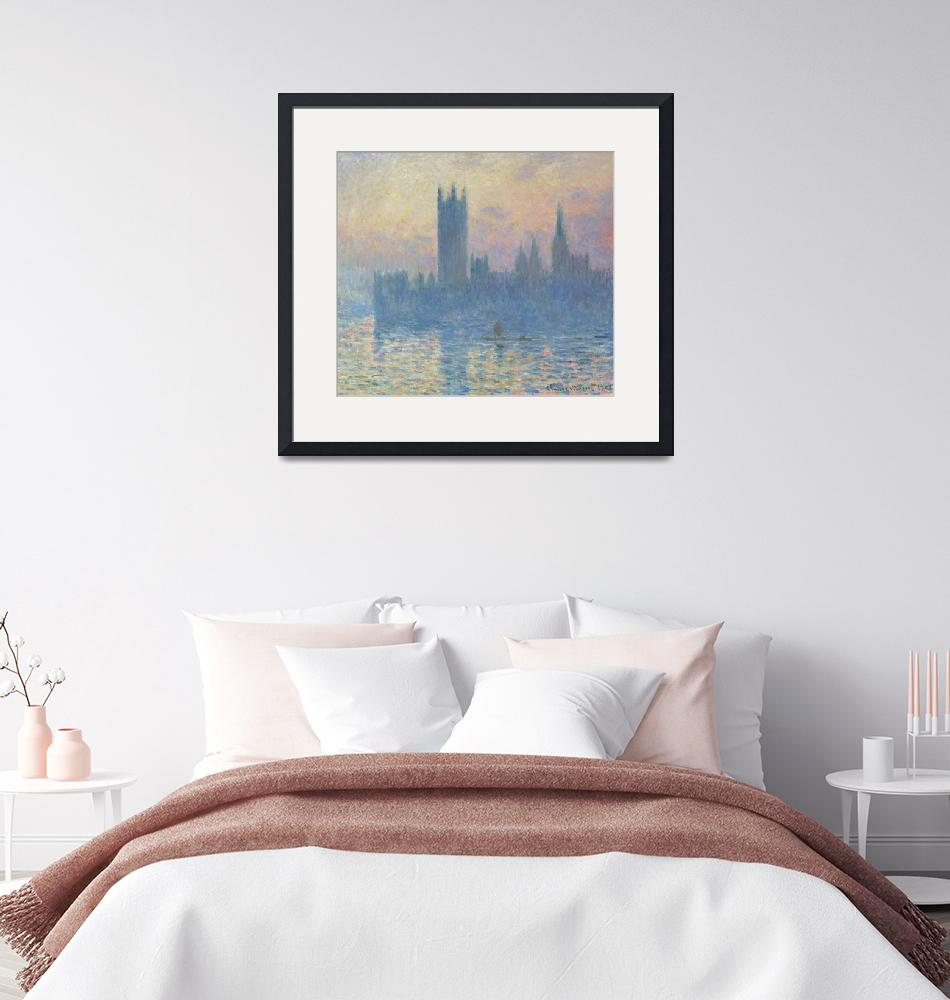"""""""Houses of Parliament, Sunset by Monet""""  by FineArtClassics"""