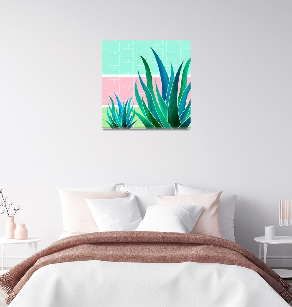 """""""Palm Springs Mood""""  (2018) by moderntropical"""