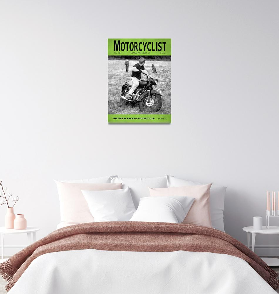 """""""Motorcycle Magazine Great Escape Motorcycle""""  (2012) by mark-rogan"""