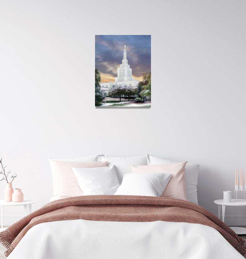 """Idaho Falls Temple""  by TerrySpringer"