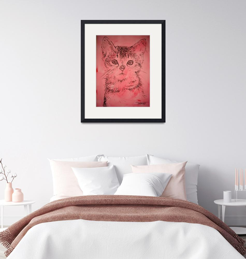 """""""Pink kitty...purrfect for a child"""