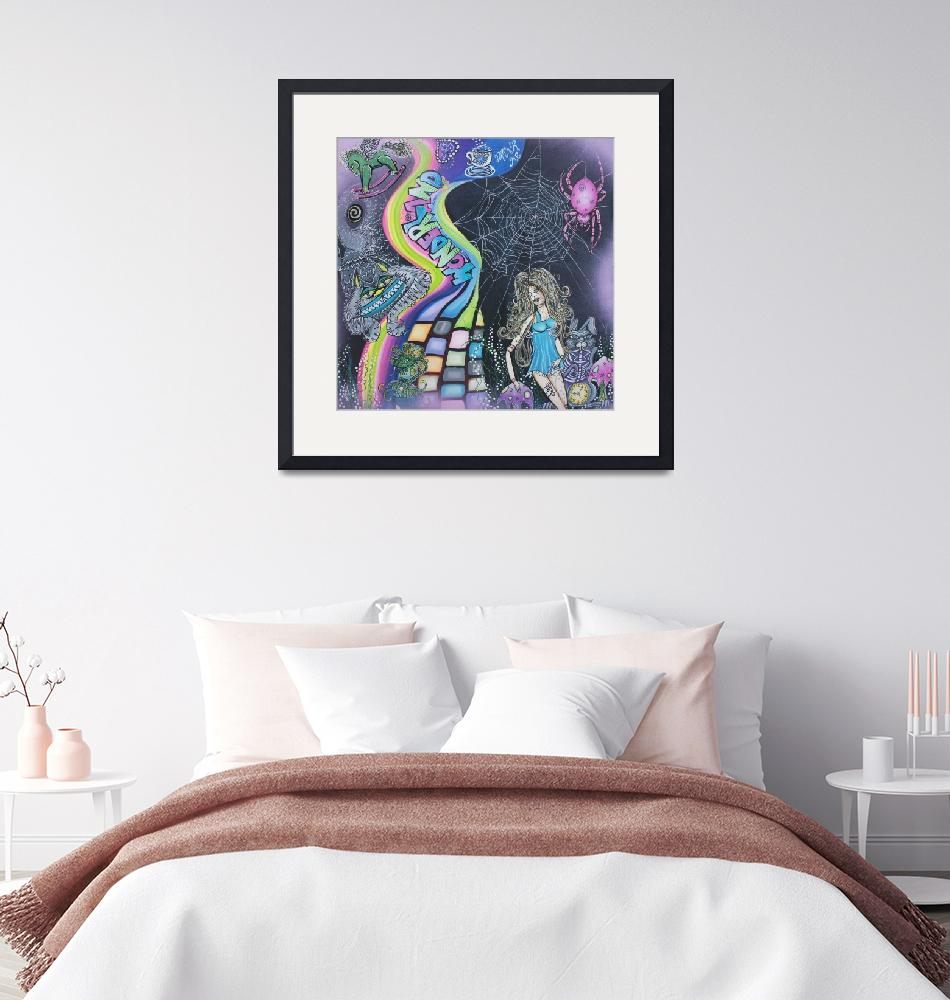 """Wonderland Dreams""  (2015) by ArtPrints"