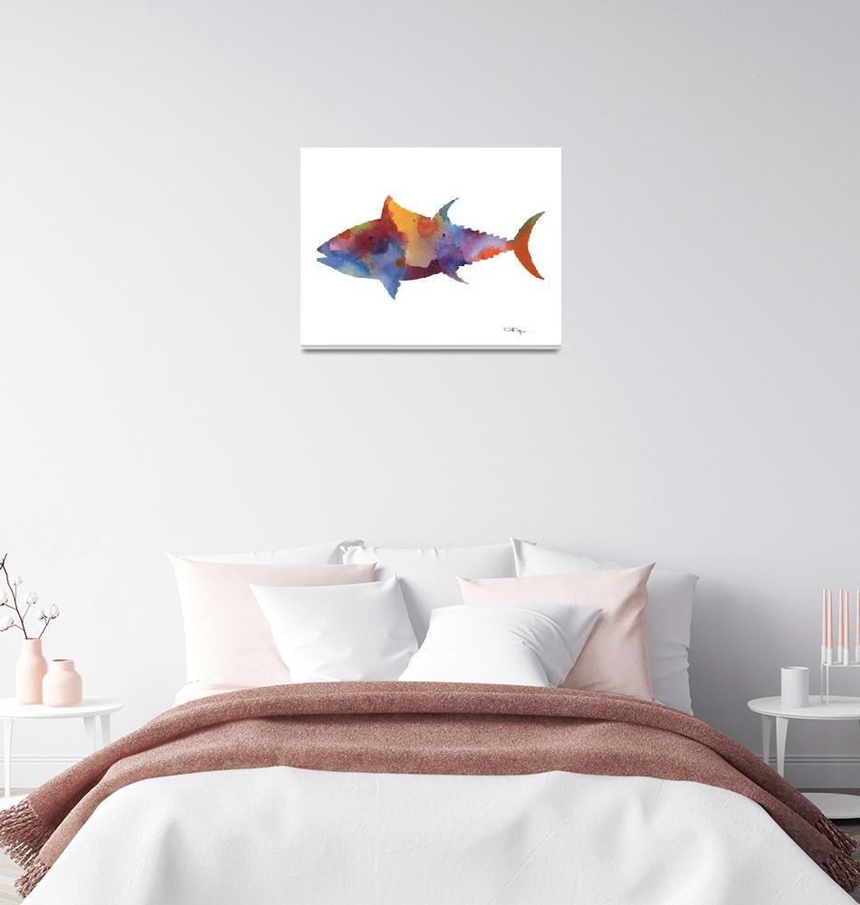 """Tuna""  (2017) by k9artgallery"