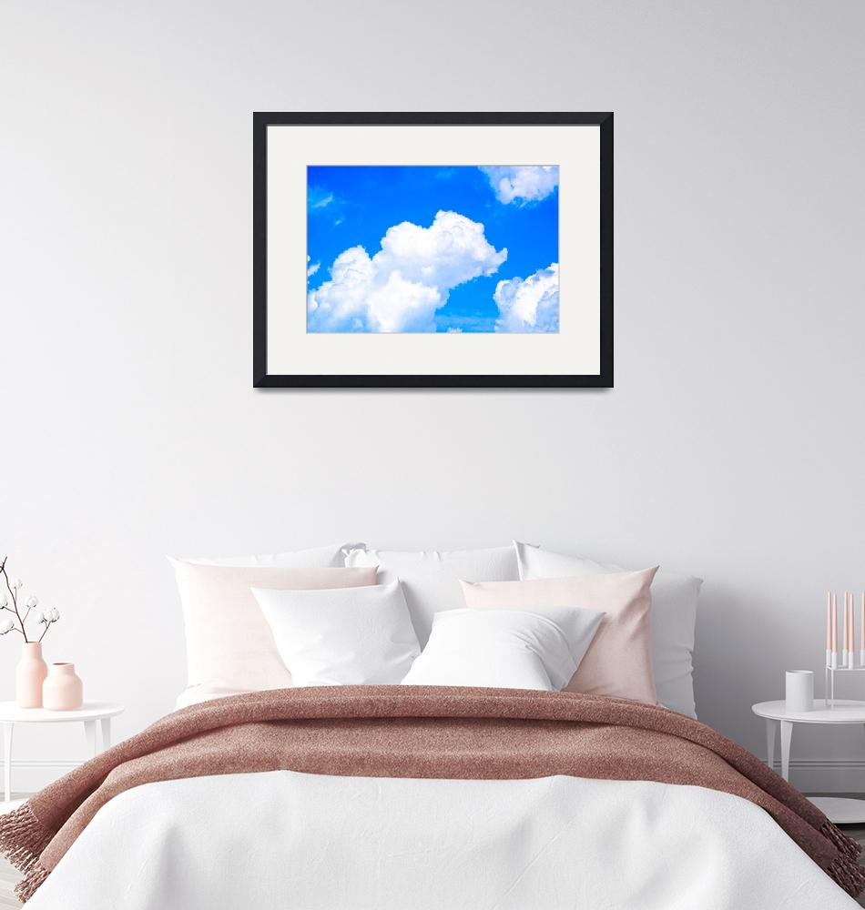 """""""""""How sweet to be a Cloud Floating in the Blue!""""""""  by anniebluesky"""
