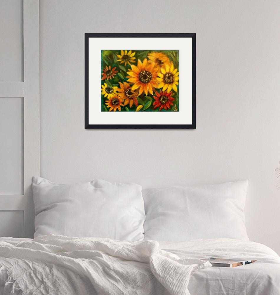 """""""Sunflower Meadow""""  by Lulabelle"""