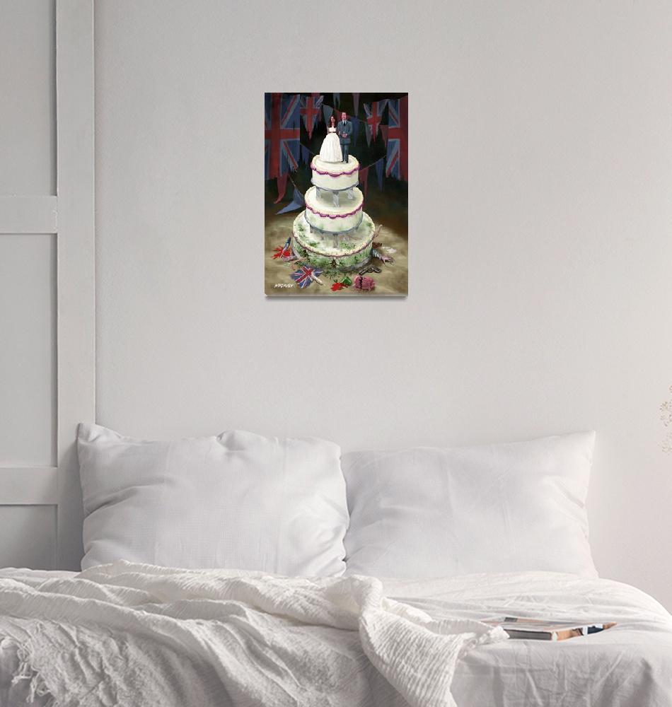 """Royal Wedding 2011 cake""  (2011) by martindavey"