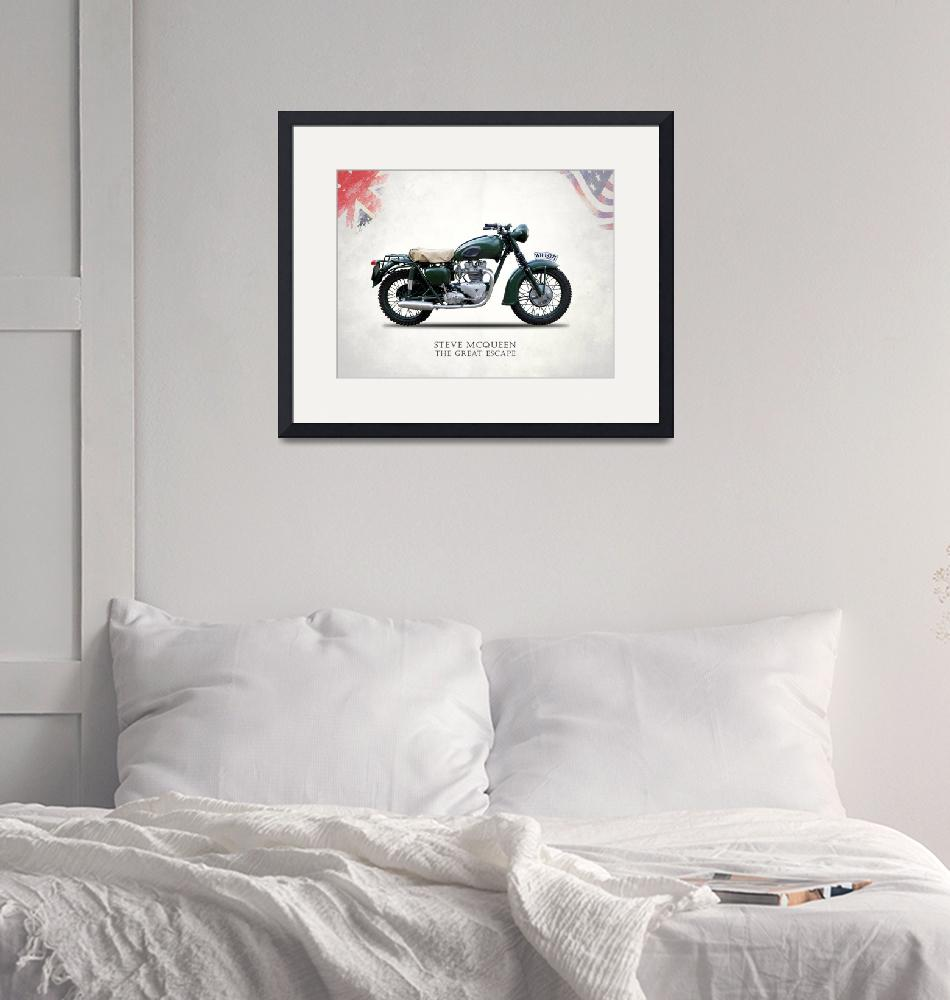 """""""The Great Escape Motorcycle""""  by mark-rogan"""