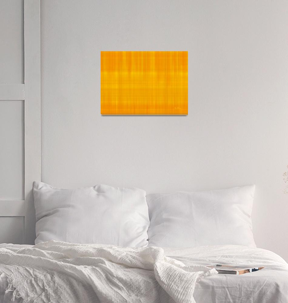 """""""Variation of yellow 2""""  (2013) by kukla"""