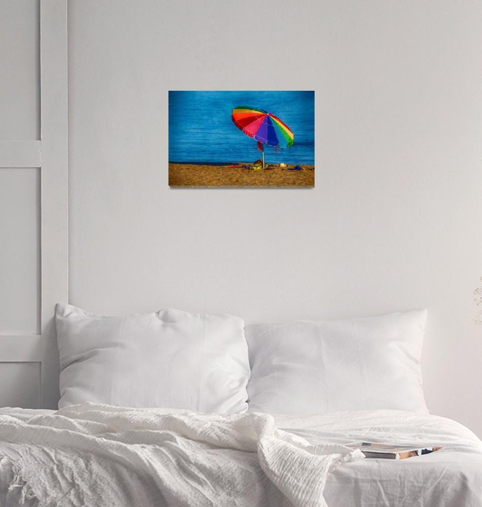 """""""Beach Colors""""  (2015) by karolsstuff"""