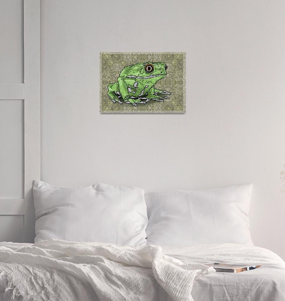 """""""Frog""""  (2015) by IntentOnArt"""