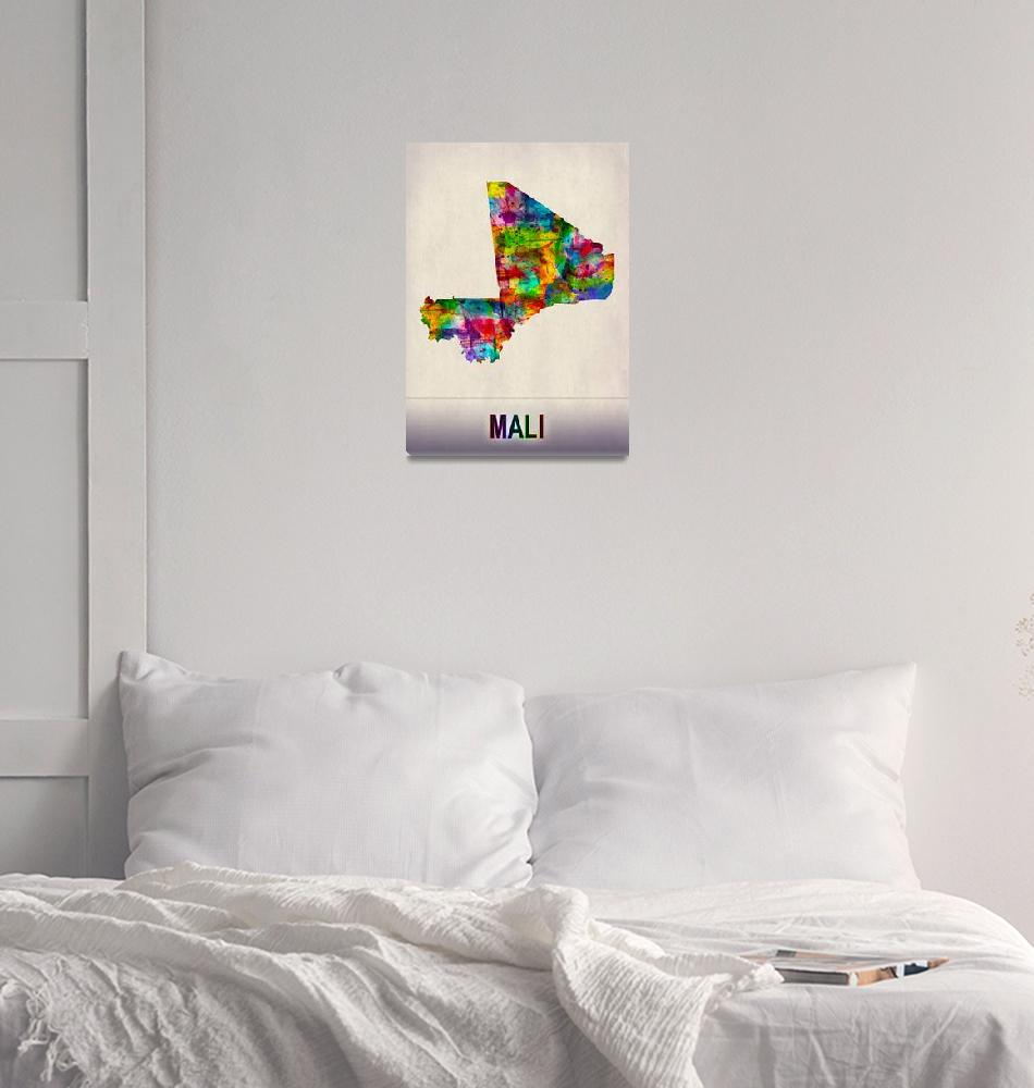 """""""Mali Map""""  by Towseef"""