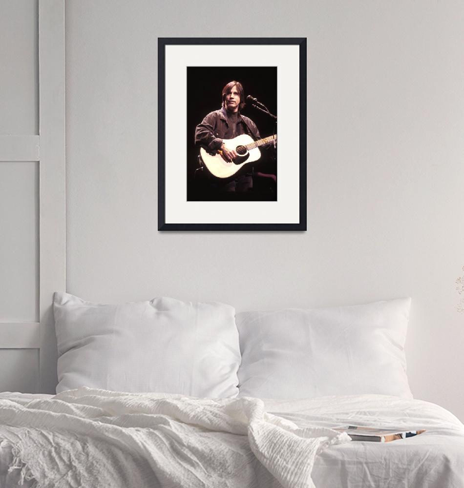 """""""Musician Jackson Browne""""  by FrontRowPhotographs"""