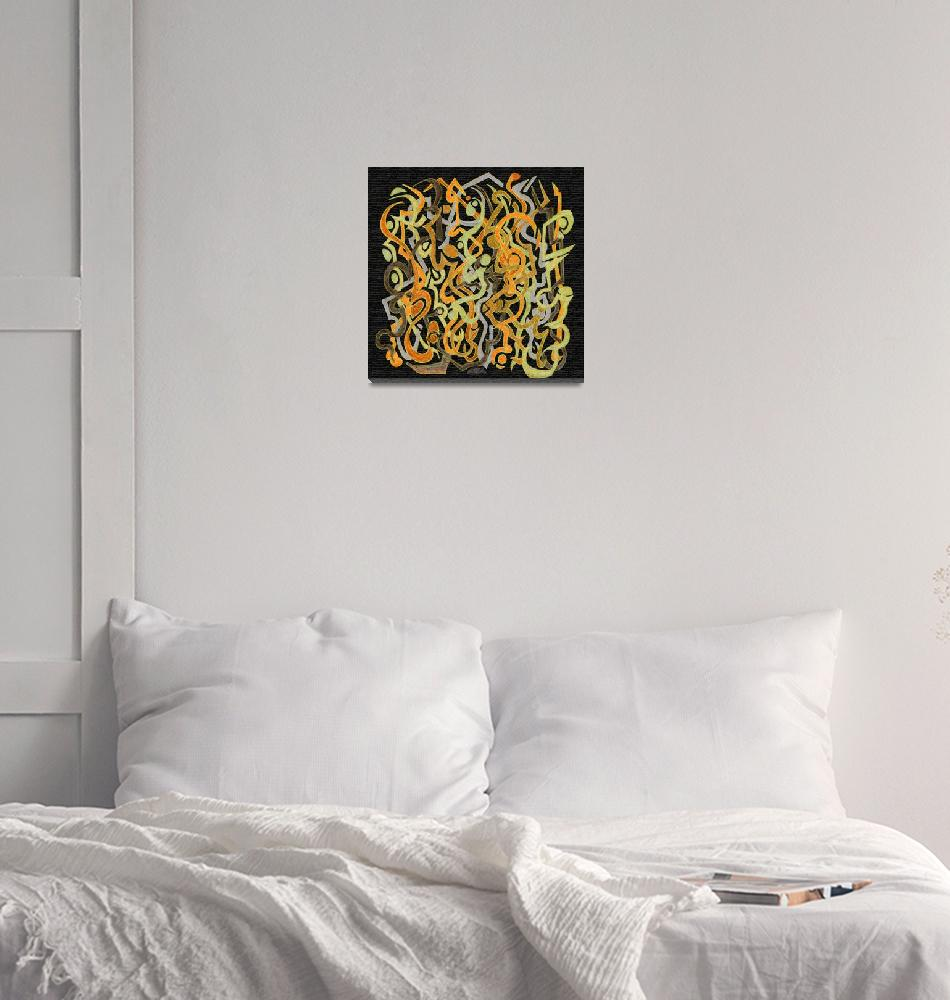 """""""African Grass Fire""""  (2007) by Markomarko"""