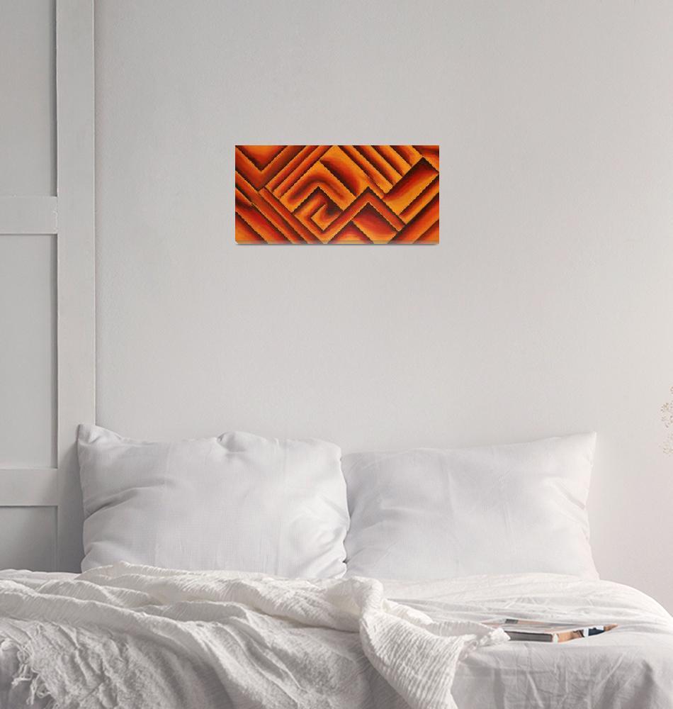 """""""Orange Marmalade""""  (2015) by waynecantrell"""