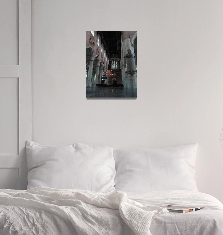 """Leiden - Interior Pieterskerk""  (2011) by edmondholland"