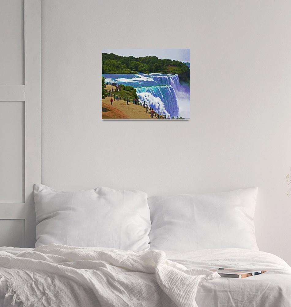 """""""Majestic Niagara 8""""  (2006) by Sari_McNamee"""