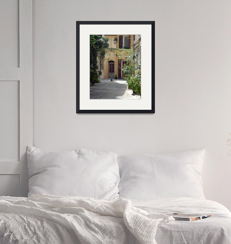 """""""Arles Provence France-8x10""""  (2008) by LindaWolff"""