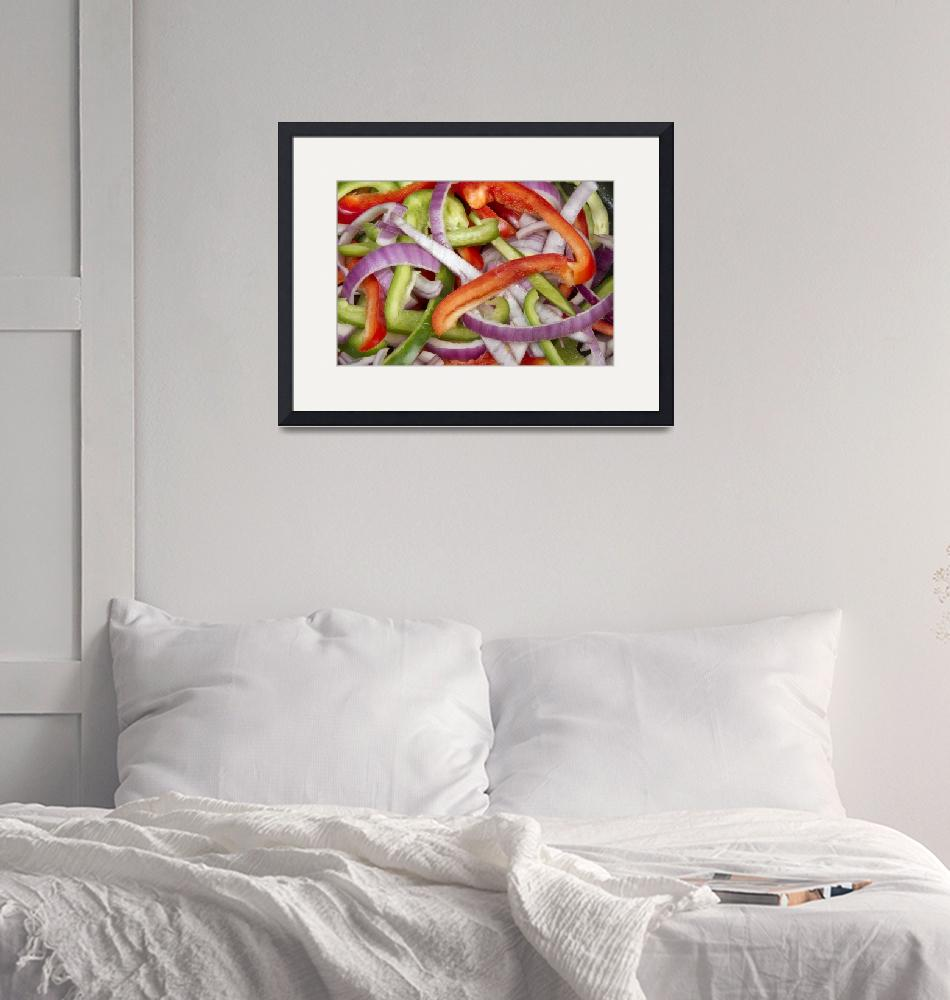 """""""Peppers and Onions""""  (2012) by lightningman"""