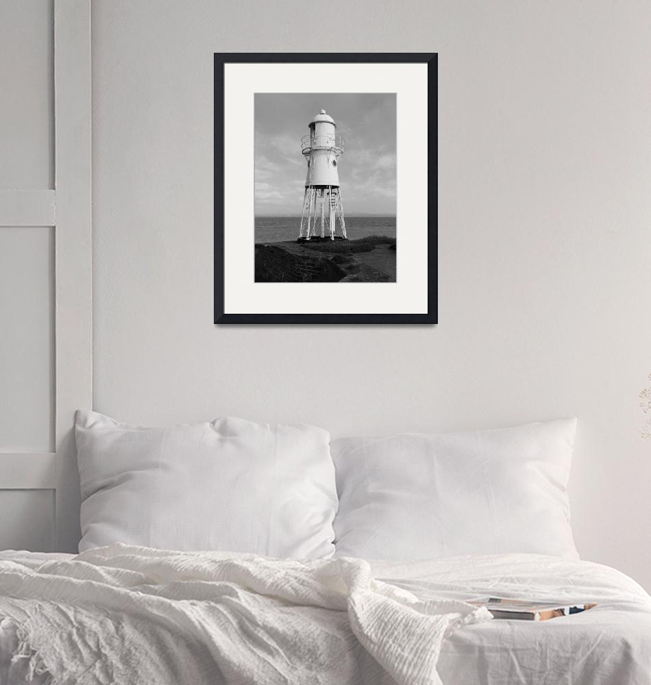 """Blacknore Lighthouse""  (2012) by IanGMclean"