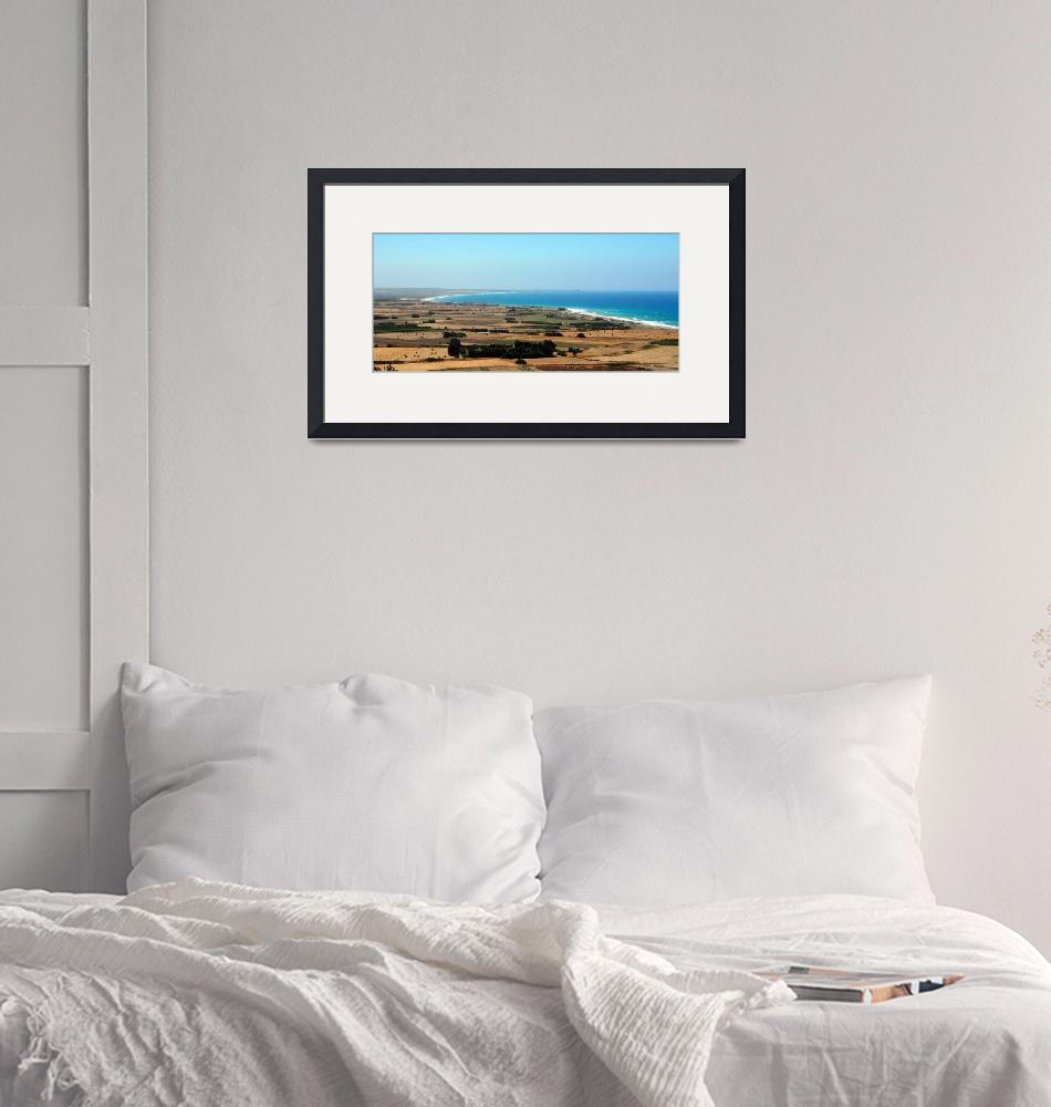 """Cyprian Coastline on the Way to Paphos""  by Artsart"