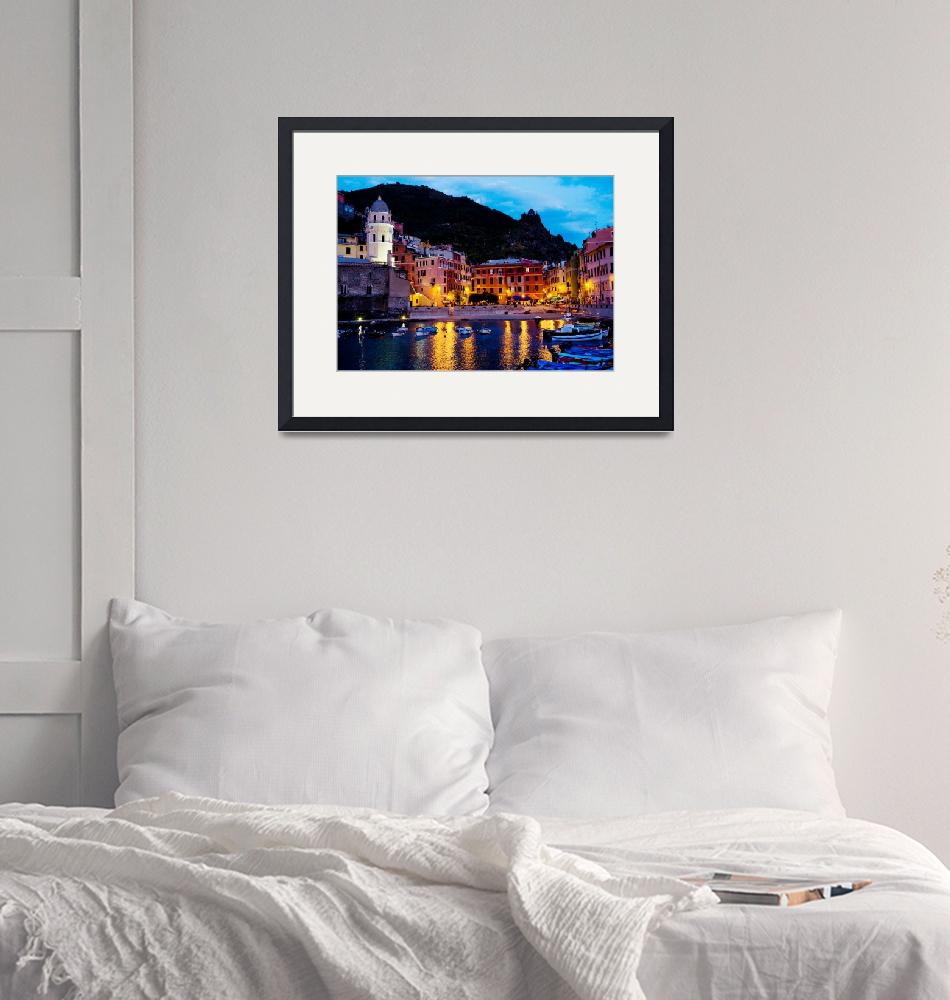 """""""Vernazza Lights"""" by WillyDaleArt"""