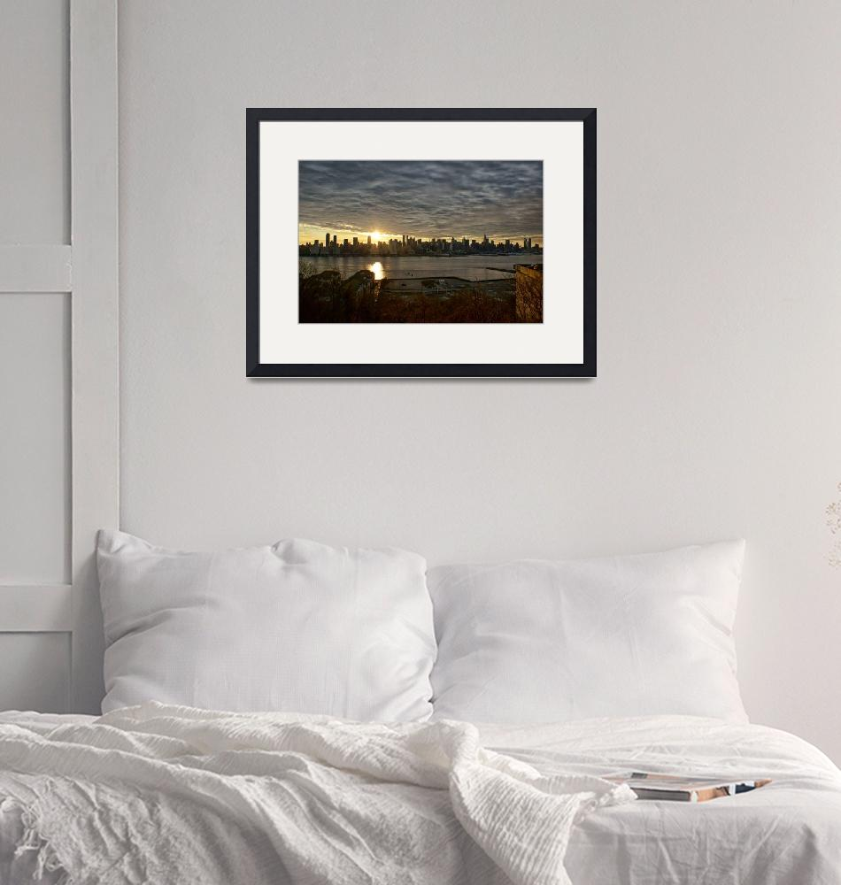 """A New York Sunrise""  (2008) by NJPhotographer"