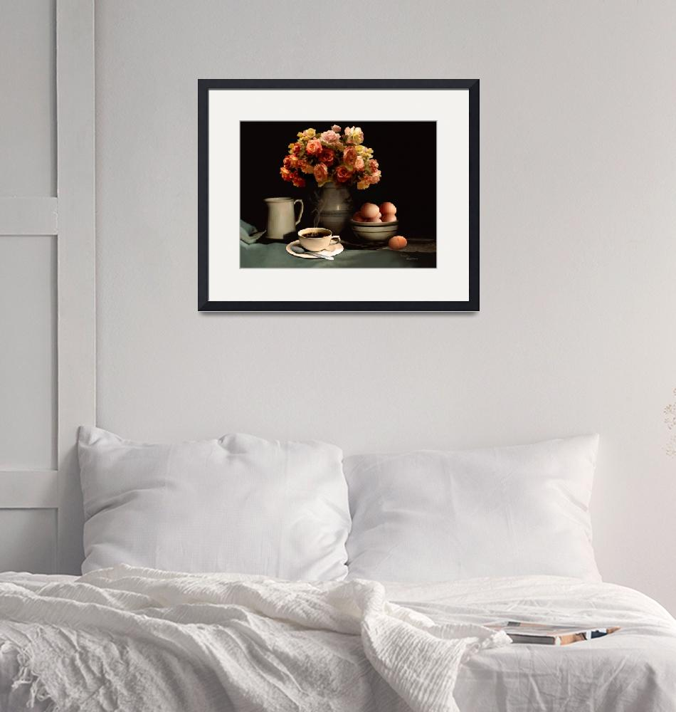 """""""Coffee And Eggs""""  (2013) by DSchellack"""