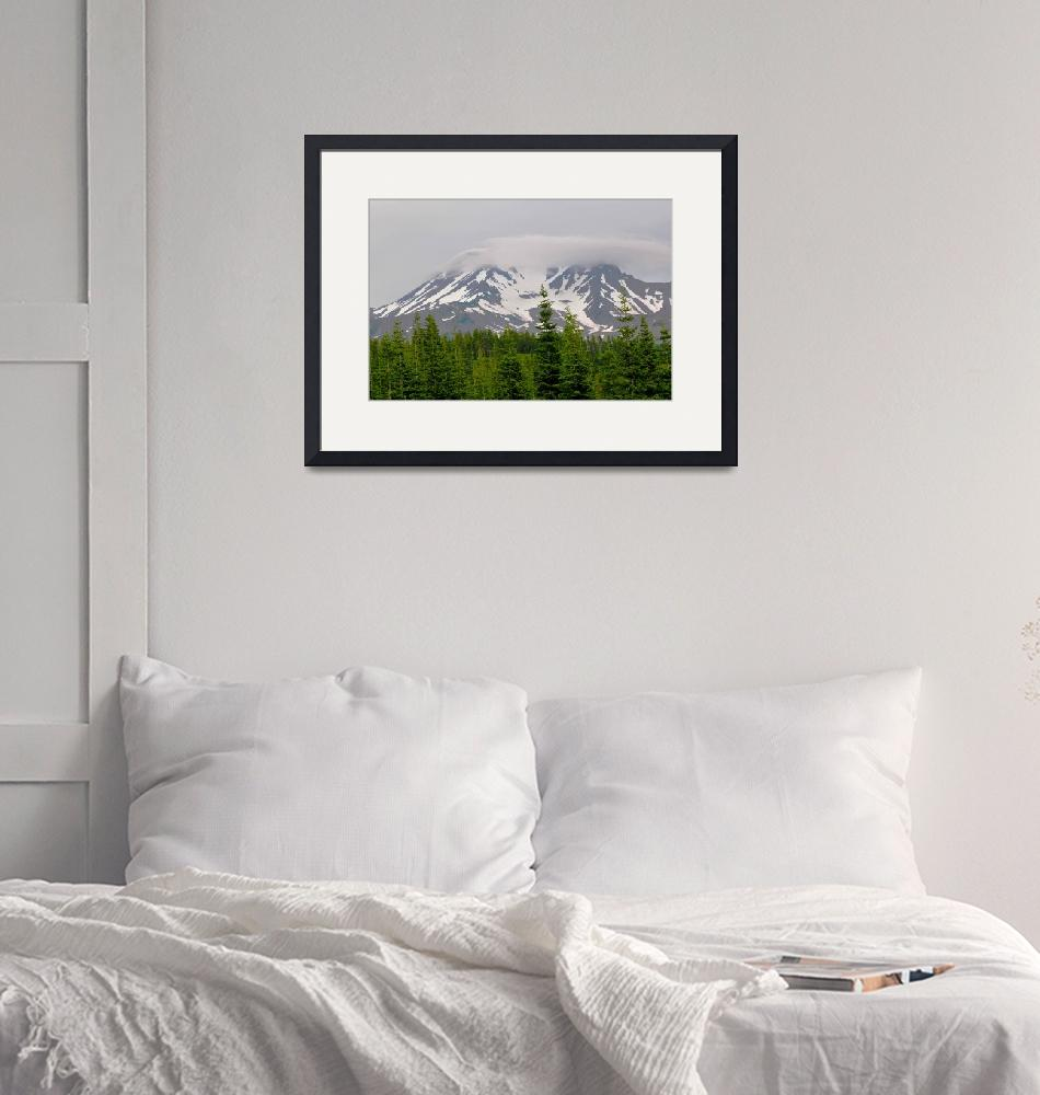 """Mount Shasta""  (2012) by calphy"